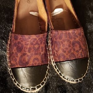 Mossimo Leopard Print Espadrilles